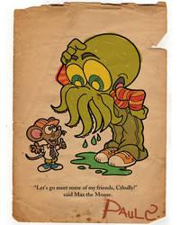 REMAKE: H.P.Lovecraft Genre by PaulSizer