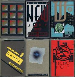 Sizer Cassette Art Set 10 by PaulSizer