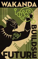 Wakanda Science Poster 2018-3 by PaulSizer