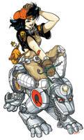 LWM Ride-em Cyberdoggie by PaulSizer