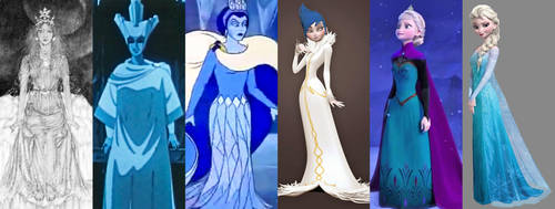 The Evolution of Elsa by SilverBuller