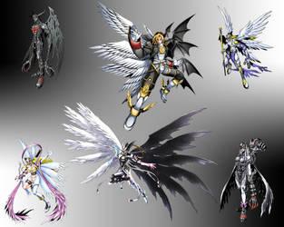 Darklight Digimon by SilverBuller