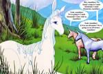 Amalthea the Unicorn by SilverBuller