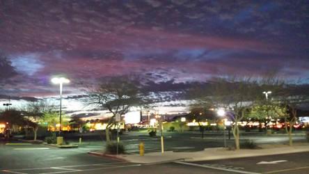 Walmart parking lot 2014 by sergeunit