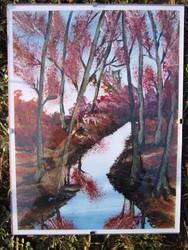 Painted landscape by TamaraFaith