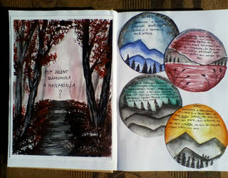 Painted-diary by TamaraFaith