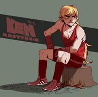 Young Street Fighters - Ken by Dynamaito
