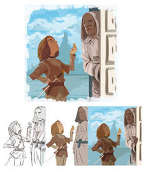 Jaqen H'ghar gave me this by Dynamaito