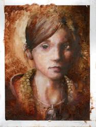 Portrait Oil Study by DustinPanzino