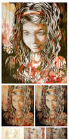 Speed Portrait Watercolor by DustinPanzino