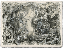 The Fall of Adam (Revelations Sketch) by DustinPanzino