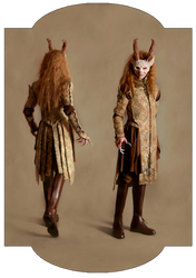 Elven Themed Costume Design by DustinPanzino