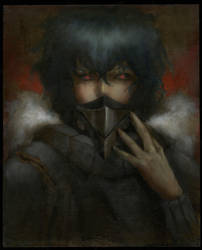 Portrait of Ayato by DustinPanzino