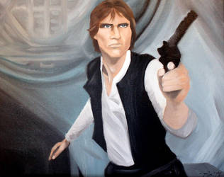 Han Solo by VictoriaSkyeMarsters