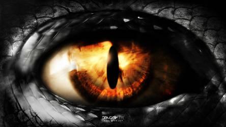 Dragon eye by t1na