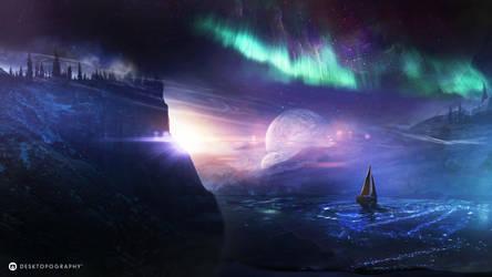 Sailing by t1na
