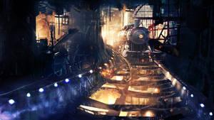 Railway by t1na