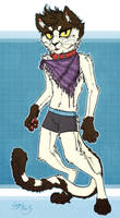 Scarf and Boxers by Serge-Stiles