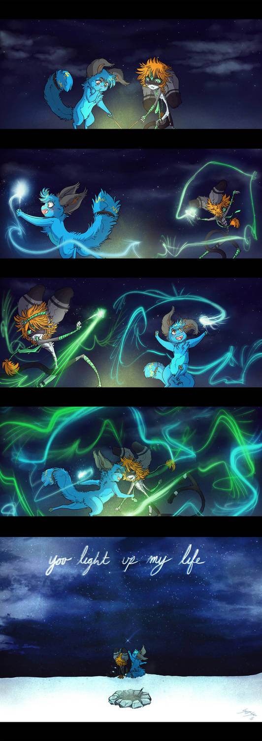You Light Up My Life by Serge-Stiles