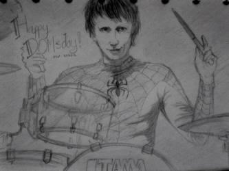 Happy Birthday Dominic Howard! by Elvin-Hazel