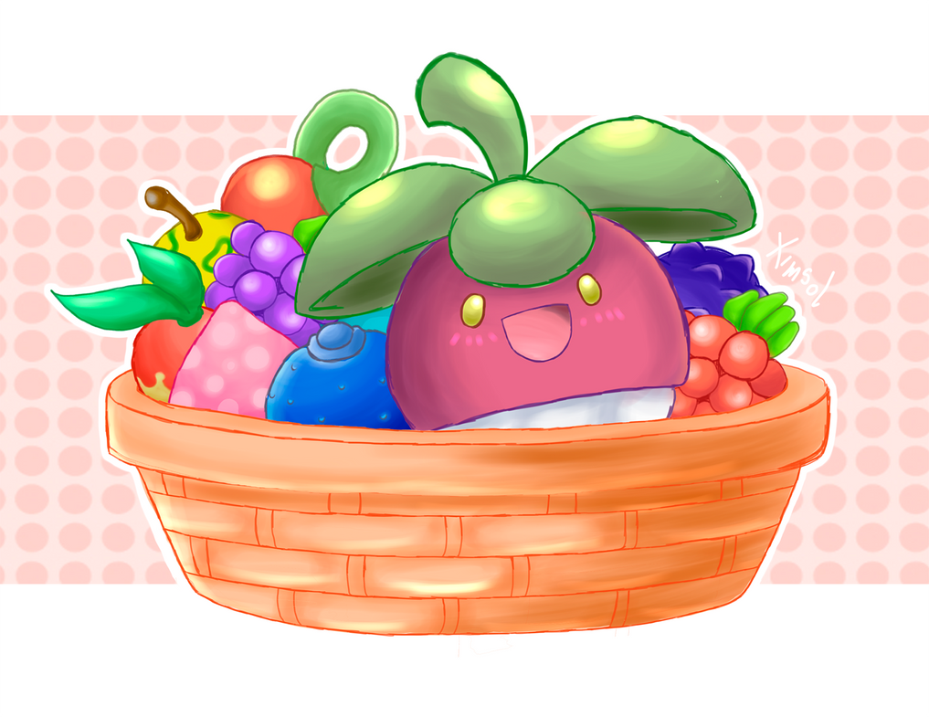 Bounsweet - Very Berry by ximsol182