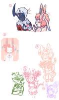 AA Doodles by hanecco