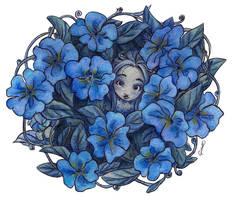 Forget me not by ChiaraCi