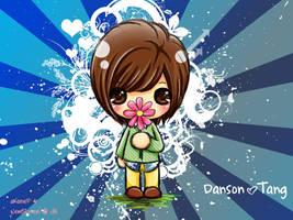 danson loves flowers by NewsLover