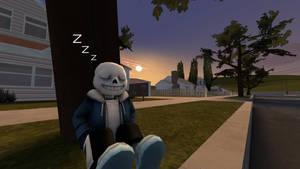 Lazybones [UNDERTALE - Sans][SFM] by VR-MMORPG