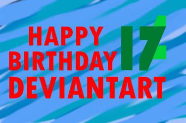 DeviantArt's 17th Birthday by VR-MMORPG