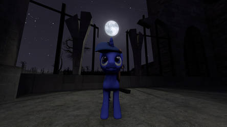The Moon [SFM] by VR-MMORPG