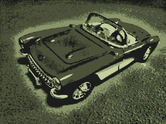 Retro Car 3 by VR-MMORPG