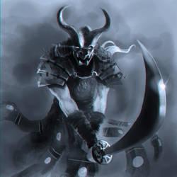samurai demon by nevreme