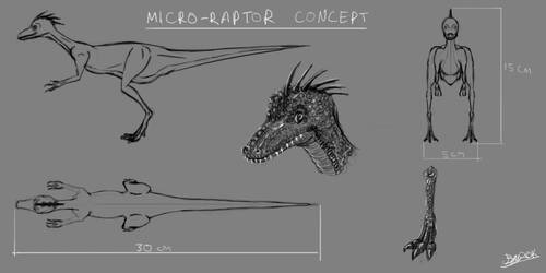 Micro-Raptor Concept by Ballzy247
