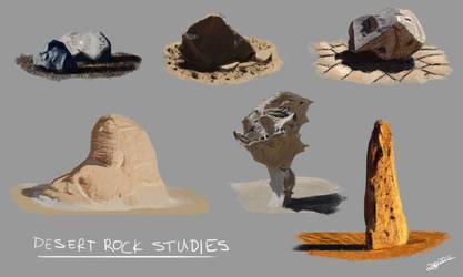 Desert Rock Studies by Ballzy247