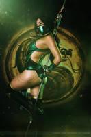 Jade - Mortal Kombat IX by Larxenne