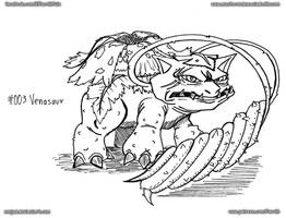 003 - Venasaur by FarothFuin