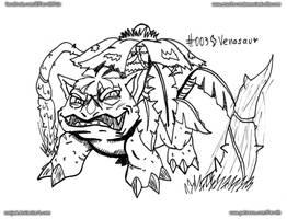003 - Mega Venasaur by FarothFuin