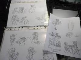 Dibujando Mucho con Demasiado by FarothFuin