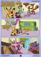 McD: Cap 2 - pag 16: Miry, Vynx y Lynx by FarothFuin