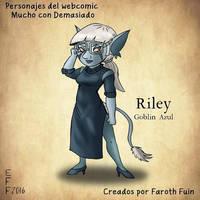 Riley by FarothFuin