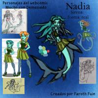 Nadia -Forma Acuatica- by FarothFuin
