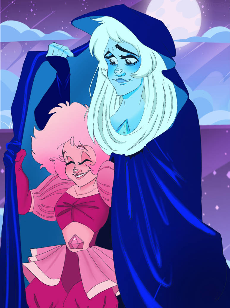 So something that definitely fascinates me about Steven Universe is the relationship between Pink and the other diamonds. The official age of Pink Diamond is pretty vague but we do know she's...