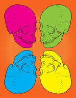 Candy Skulls by Karbacca
