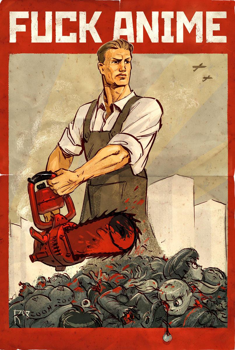 Old poster by Waldemar-Kazak