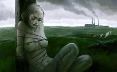 Melancholy by Waldemar-Kazak