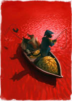 Fishing by Waldemar-Kazak
