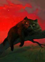 Cat Bayun by Waldemar-Kazak