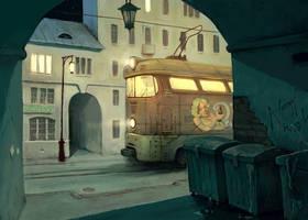 Last route by Waldemar-Kazak