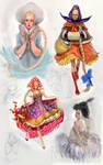Girls of Russia by Waldemar-Kazak